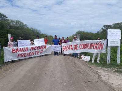 Pobladores de localidades de Alto Paraguay se manifiestan por aislamiento