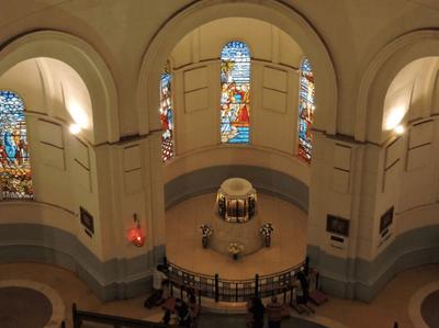 Las cuatro personas inmortalizadas en la Basílica