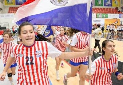 Paraguay cerró el Sudamericano Escolar con récord de medallas