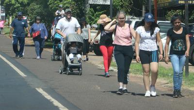 Buscan concienciar a los peregrinantes sobre lucha contra el dengue
