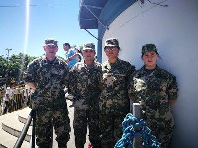 Del destacamento militar al servicio de la Virgen de Caacupé