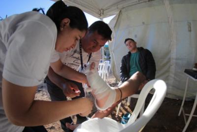 Salud confirma 15.000 atenciones a feligreses