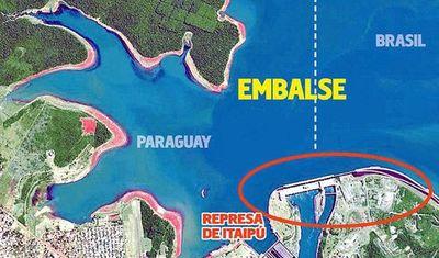 Producción actual de Itaipú está entre las más bajas de los últimos tiempos
