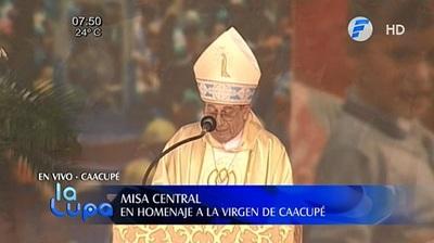 Monseñor critica duramente la injusticia, pobreza y corrupción imperante en el país