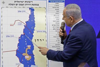Netanyahu promueve plan de anexión de una parte de Cisjordania