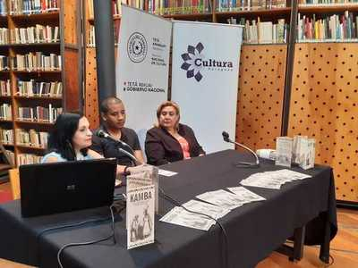 Secretaría de Cultura presentó material didáctico sobre población afroparaguaya