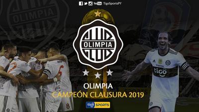 Olimpia es tetracampeón del fútbol paraguayo