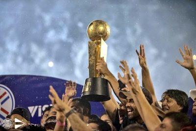 Olimpia logra el tetracampeonato: el festejo del campeón