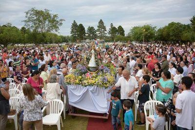 Crece la devoción por la Virgen de Caacupé en San Ignacio