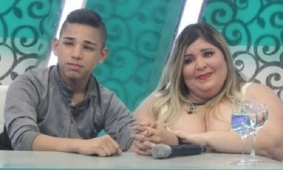 Pamela Ovelar y su hijo predicaran la palabra de Dios