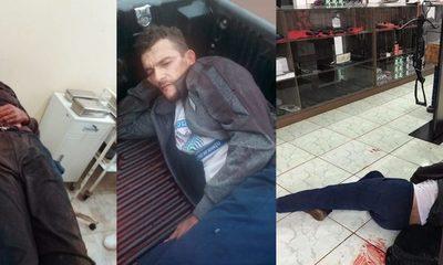 Un muerto y un herido en intento de asalto a casa de armas