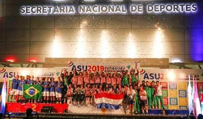 Paraguay supera récord de medallas en los Juegos Sudamericanos Escolares