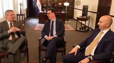 Titular del TSJE mantuvo reunión con Jefe de la Misión de la UE