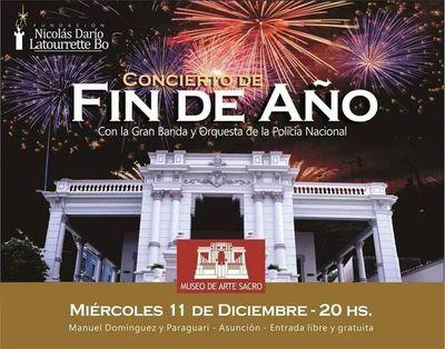 Un gran concierto de Fin de Año organiza el Museo de Arte Sacro