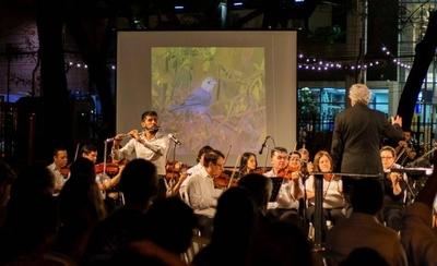 """HOY / """"Música para volar"""" desembarca en la Plaza Uruguaya"""
