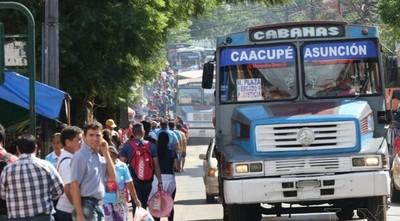 Dinatran controló 4257 buses y multó a 7 empresas durante Operativo Caacupé