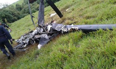 Cayó un helicóptero en Alto Paraná y no encontraron a los tripulantes