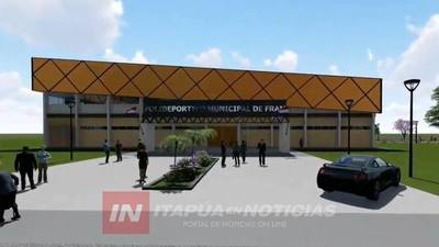 EL 2020 SE COMPLETARÁN IMPORTANTES ESTRUCTURAS DEPORTIVAS EN ITAPÚA