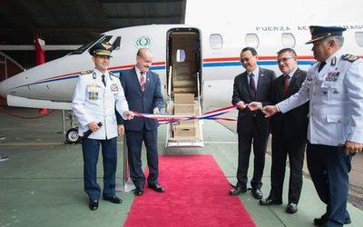 Taiwán dona jet a Paraguay