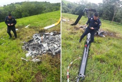 Vuelo de helicóptero siniestrado en Itakyry era clandestino