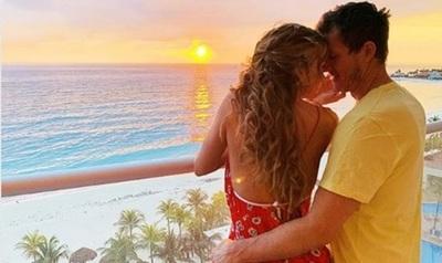 Las vacaciones de Dallys Ferreira en el Caribe Mexicano