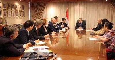Reunión con Delegación de la Unión Europea