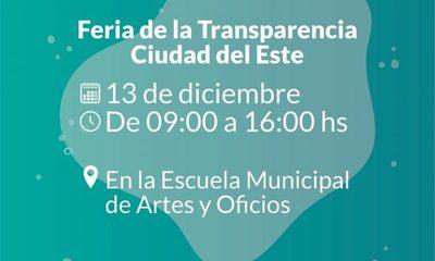 Realizarán «Feria de Transparencia»