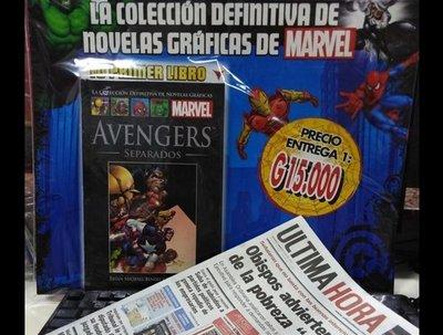 Cómo conseguir la Colección de Marvel que llega con el Diario ÚH