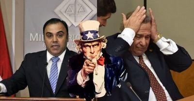 Inéditas sanciones de EE.UU a corruptos de nuestro país