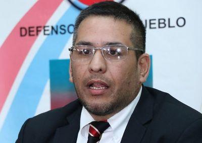 Defensor del Pueblo presenta grave denuncia contra su Adjunto