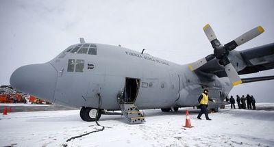 Continúa intenso operativo de búsqueda del avión militar chileno desaparecido