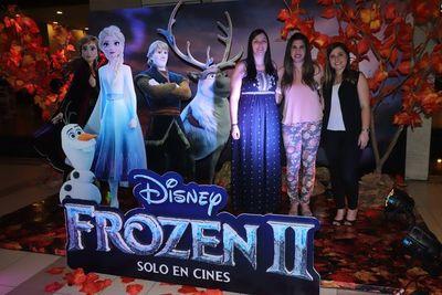 Avant première de Frozen II