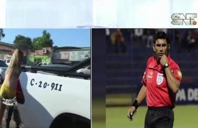Árbitro de fútbol fue asaltado por trans en Fernando de la Mora