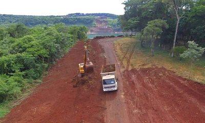 Ingresa segundo lote de maquinarias en zona de obras del Puente de la Integración