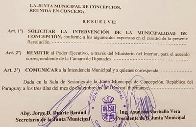 Finalmente fue firmada la resolución del pedido de intervención