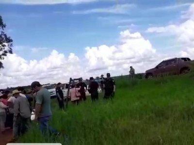 Familias campesinas invaden propiedad en Canindeyú