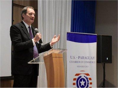 Embajador de EEUU felicita a Mario Abdo por esfuerzo contra la corrupción