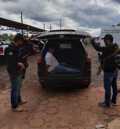 Miembro del PCC y peligroso narco fue expulsado del país