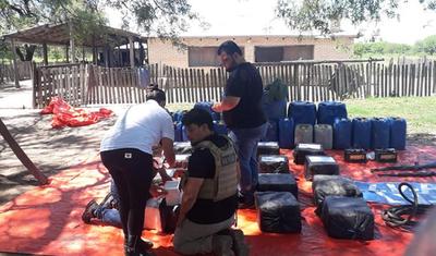 10 datos e imágenes de la incautación de casi media tonelada de cocaína