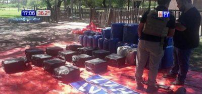 Cuantifican cocaína decomisada en Chaco
