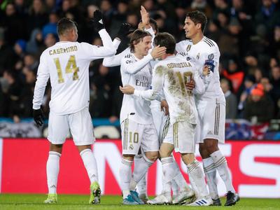 PSG y Real Madrid van victoriosos a octavos