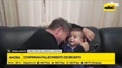 Falleció Brunito mientras esperaba un trasplante de riñón
