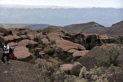 Reserva natural rupestre es principal sitio turístico de Bolivia