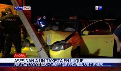 Taxista asesinado tenía apenas G. 5.000 y su celular