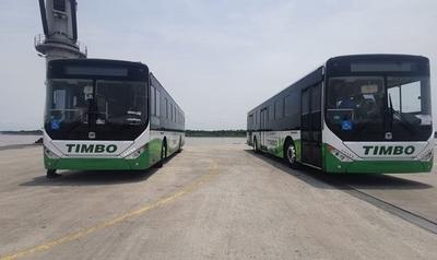 Los primeros buses eléctricos ya están circulando