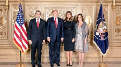 HOY / Abdo y Trump, a solas en la Casa Blanca: lavado de dinero, narcotráfico y corrupción
