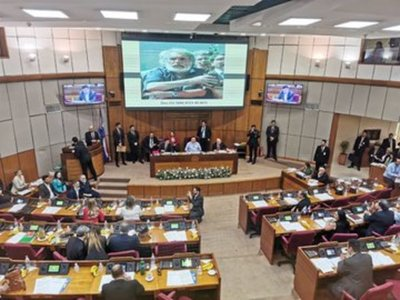 Senadores distingue a Humberto Rubin por su labor ambiental con ATP