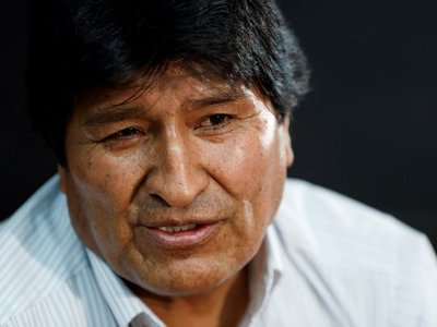 """Evo Morales llega a Argentina """"para quedarse"""""""