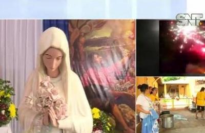 Realizan homenaje a la Virgen de Guadalupe en Fernando de la Mora