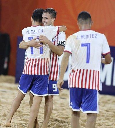 Paraguay golea a Bolivia y lidera el Grupo A del Sudamericano de Fútbol de Playa